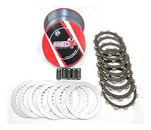 Kit Discos/Separadores/Molas Embreagem Crf 250 X 04/17 - Crf 250 R 08/09- Sherco 250/300 4T - Ktm 250 4T 06/12