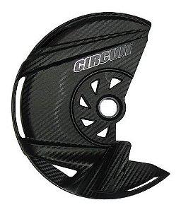 Protetor de Disco Dianteiro Crf 230 - Crf250 F Carbono