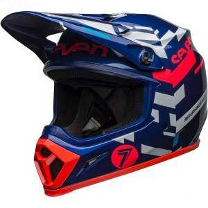 New Capacete Bell Mx-9 Seven Mips