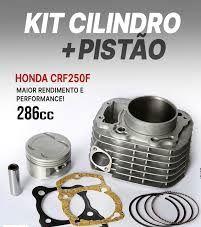 Kit Cilindro/Pistão Completo Crf250 F 286cc