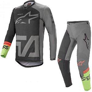 Conjunto Calça e Camisa Alpinestars Racer Compass 2021