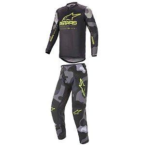 Conjunto Calça e Camisa Alpinestars Racer Tactical 2021