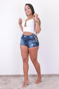 SHORT RENY JEANS ESCURO