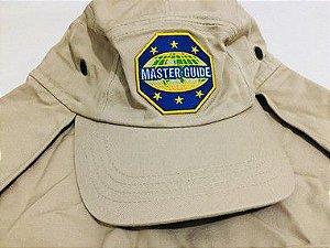 Boné com Protetor de Nuca Emblema Master Guide 321b0116b43