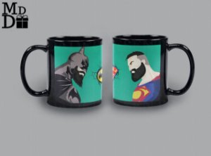 Caneca Batman x Superman
