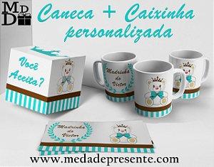 Caneca + Caixinha personalizada