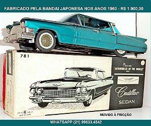Cadillac Sedan. Da marca Bandai.Feito em lata.Caixa original.Perfeito.Made in Japan.