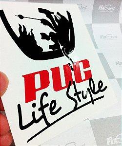 Adesivo Peugeot Pug Life Style