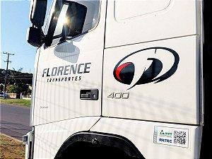 Adesivo personalizado para caminhão