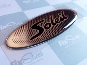 Emblema Peugeot 206 Soleil padrão original