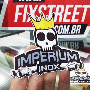 Kit com 100 adesivos personalizados com seu logotipo