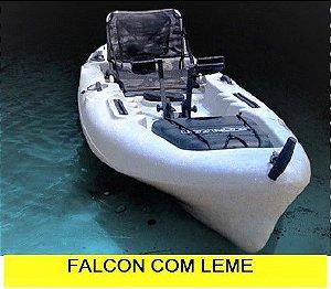 Caiaque Falcon com leme - PRONTA ENTREGA