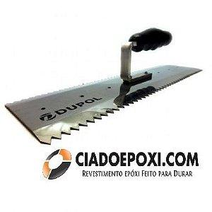 Desempenadeira Dentada para Autonivelante 40 cm