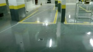 Epóxi Alta Espessura Para Pisos Industriais, Garagem, Estacionamento