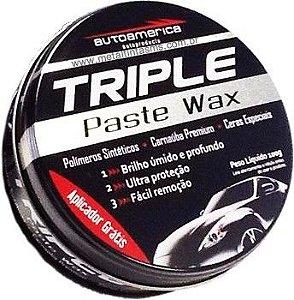 Cera De Carnauba Triple Paste Wax Premium Autoamerica