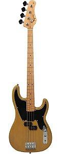 Contrabaixo Elétrico 4 Cordas Precision Bass TW-66-BS (Butterscotch - Escala Clara - Escudo Preto) - Tagima