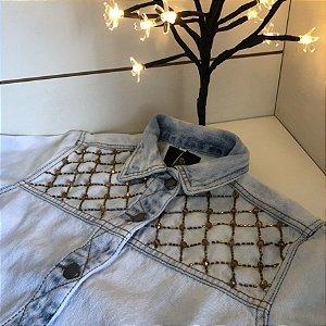 Jaqueta Jeans Cristal