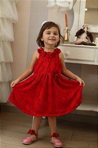 2498 Vestido Vermelho Chic