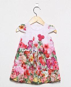 1506 Vestido BB Estampado Flores