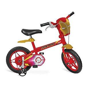 Bicicleta Aro 12 Homem de Ferro Bandeirante