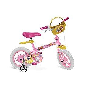 Bicicleta Aro 12 Princesas Disney Bandeirante