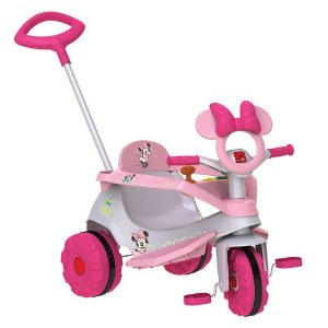 Triciclo Velobaby Disney Minnie Bandeirante