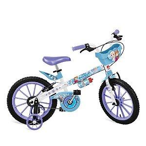 Bicicleta Aro 16 Frozen Disney Bandeirante