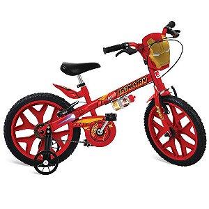 Bicicleta Aro 16 Homem De Ferro Bandeirante