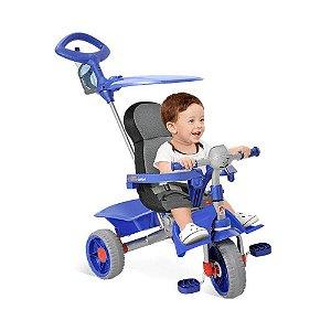 Triciclo Smart Comfort Azul Bandeirante