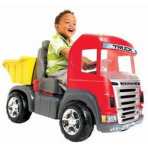Caminhão Truck Pedal Vermelho Magic Toys