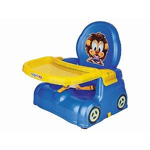 Cadeira Papinha Leão Azul Magic Toys