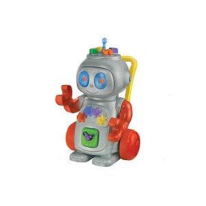 Robô Andador Didático Vermelho Magic Toys