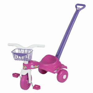 Triciclo Tico Tico Fani Rosa Magic Toys