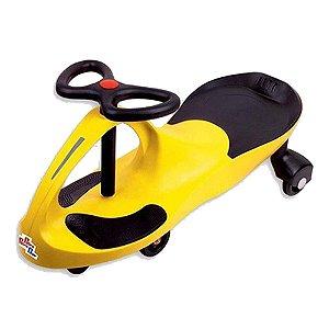 Carrinho Gira Gira Car Infantil Amarelo Fênix