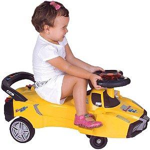 Carrinho Fórmula Gira Gira Amarelo Fênix
