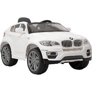 Carro Elétrico BMW X6 Branca Bandeirante
