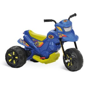 Moto Elétrica XT3 6V Azul Bandeirante