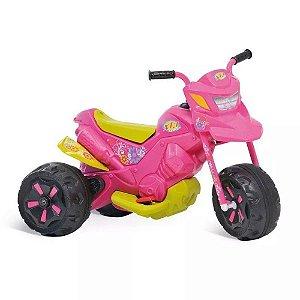 Moto Elétrica XT3 Fashion 6V Rosa Bandeirante