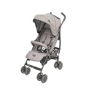 Carrinho De Bebê Genua Woven Grey ABC Design