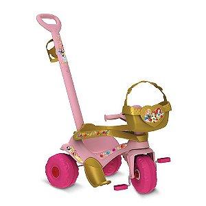 Triciclo Passeio E Pedal Princesas Disney Bandeirante