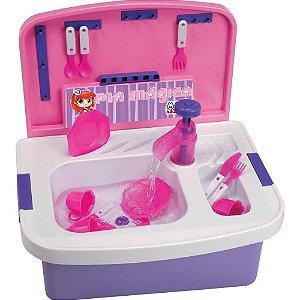 Pia Mágica Sai Água Magic Toys