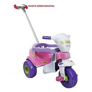 Triciclo Bichos Com Som Rosa  Magic Toys