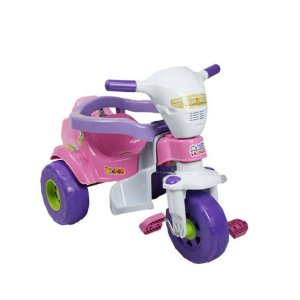 Triciclo Bichos Rosa Magic Toys