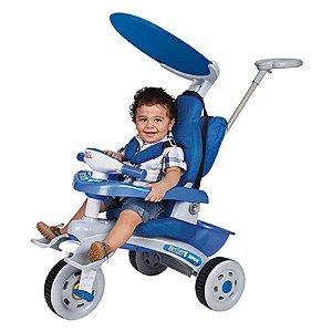 Triciclo Trike Super Azul Estofado Magic Toys