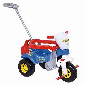 Triciclo Bichos Com Som Azul Magic Toys