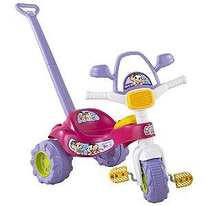 Triciclo Musical Mônica Magic Toys