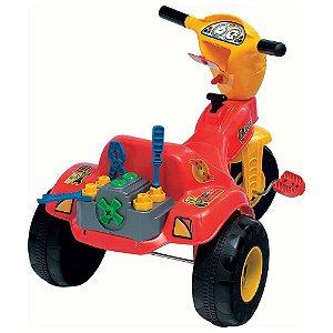 Triciclo Mecânico Com Ferramentas Magic Toys