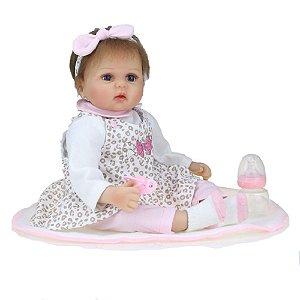 Bebê Reborn Kiki Doll Giovanna Fenix