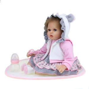 Bebê Reborn Kiki Doll Bianca Fenix