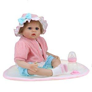 Bebê Reborn Kiki Doll Luiza Fenix